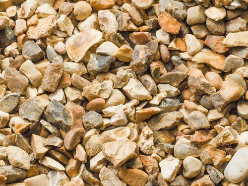 イギリス産 砂利・玉石 ゴールデン