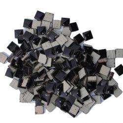 モザイクタイル 10mm角 ブラック