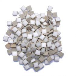 モザイクタイル 10mm角 ホワイト