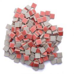 モザイクタイル 10mm角 ピンク