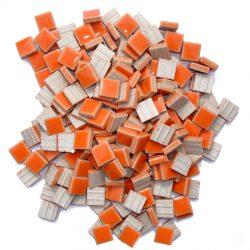 モザイクタイル 10mm角 オレンジ
