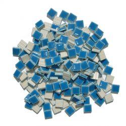 モザイクタイル 10mm角 ブルー