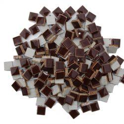 モザイクタイル 10mm角 チョコ