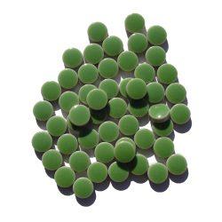 モザイクタイル 10mm丸 グリーン