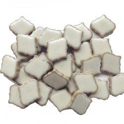モザイクタイル ランタン型 白色
