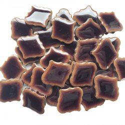モザイクタイル ランタン型 茶色